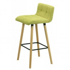 Scaun de bar ABS 127-verde
